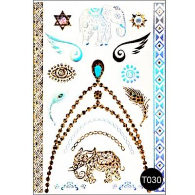 Флеш тату Tattoo Style T030 Kodi
