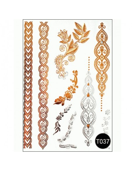Флеш тату Tattoo Style T037 Kodi