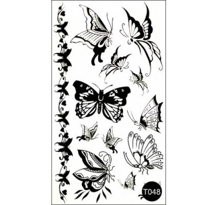 Флеш тату Tattoo Style T048 Kodi