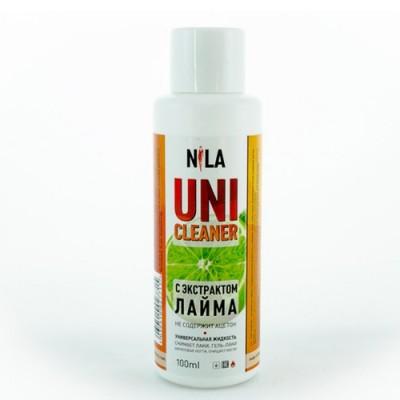 Nila Uni-Cleaner универсальная жидкость для очистки Лайм, 100мл.