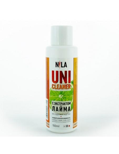 Nila Uni-Cleaner универсальная жидкость для снятия гель лака и акрила, 100мл. (аромат в ассортименте)