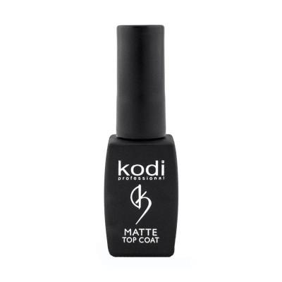 Kodi Matte Top Coat - матовый топ для гель лака, 8 мл.
