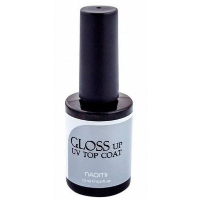 Naomi Gloss Up UV Top Coat - глянцевый топ для гель-лака 12 мл.
