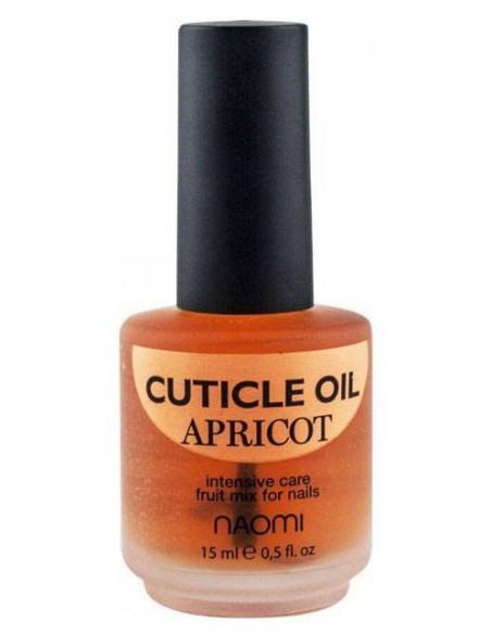 Naomi масло для кутикулы и ногтей Абрикос 15 мл.