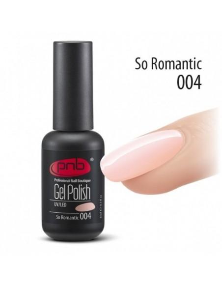 Гель лак PNB №4 So Romantic 8 мл.