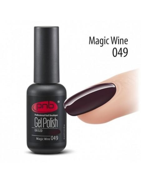 Гель лак PNB №49 Magic Wine 8 мл.