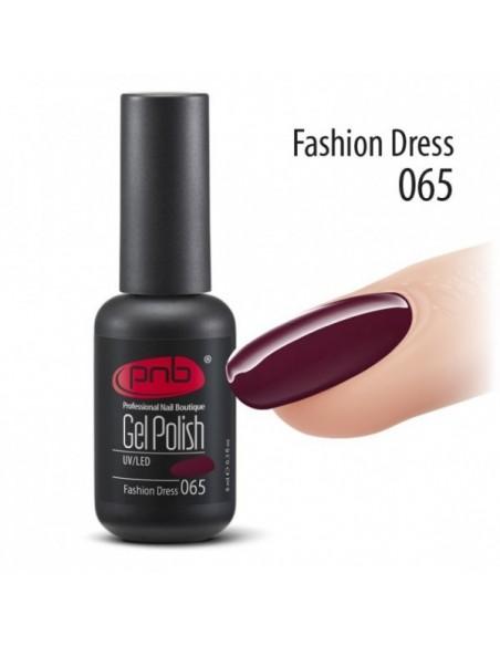 Гель лак PNB №65 Fashion Dress 8 мл.