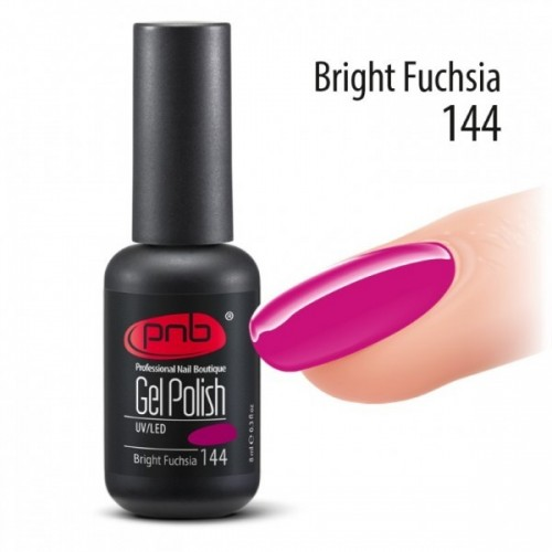 Гель-лак PNB №144 Bright Fuchsia 8 мл.