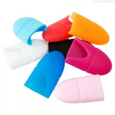 Колпачки силиконовые для снятия гель лака