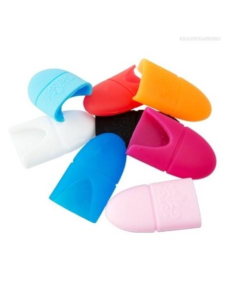 Колпачки силиконовые для снятия гель-лака ,10 шт.