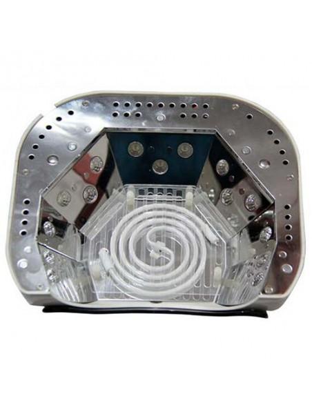 CCFL+LED гибридная лампа 48 Вт. для гель лака красная