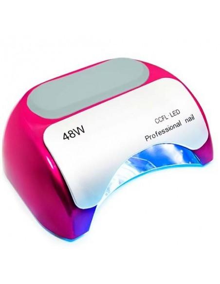 CCFL+LED гибридная лампа 48 Вт. для сушки гель лака, фиолетовая