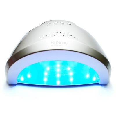 SUN ONE 48 Вт. UV/LED лампа для маникюра серебристая