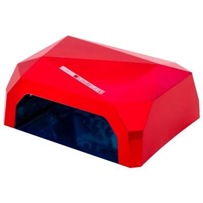 CCFL+LED гибридная лампа 36 Вт, красная (гель+гель-лаки)