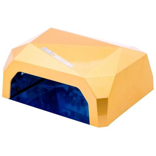 CCFL+LED золотая гибридная лампа 36 Вт (гель + гель-лаки)