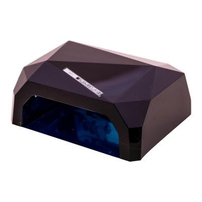 CCFL+LED черная гибридная лампа 36 Вт (гель + гель-лаки)