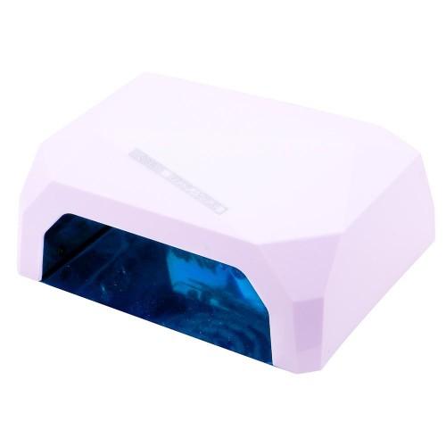 CCFL+LED белая гибридная лампа 36 Вт (гель + гель-лаки)
