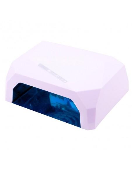 CCFL+LED гибридная лампа 36 Вт, белая (гель+гель-лаки)
