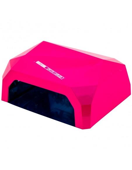 CCFL+LED гибридная лампа 36 Вт, розовая (гель+гель-лаки)