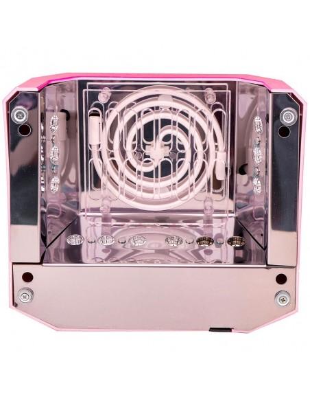 CCFL+LED розовая гибридная лампа 36 Вт (гель + гель-лаки)