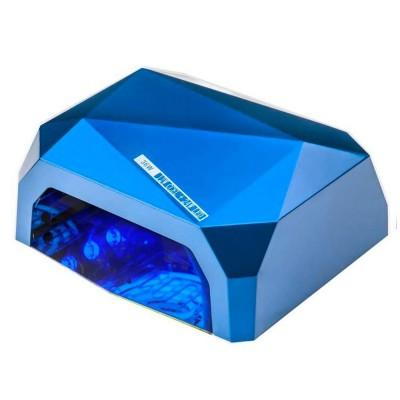 CCFL+LED гибридная лампа 36 Вт, синяя (гель+гель-лаки)