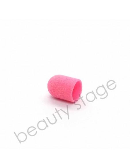 Колпачок насадка для фрезера 10х15 мм., абразивность 120 (Розовый)