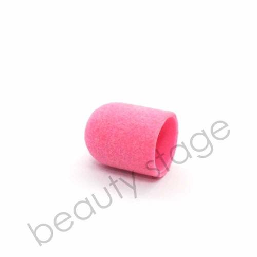 Розовый колпачок насадка для фрезера 13х19 мм., абразивность 120