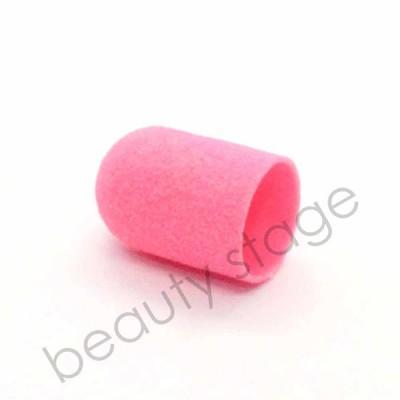 Розовый колпачок насадка для фрезера 16х25 мм., абразивность 120