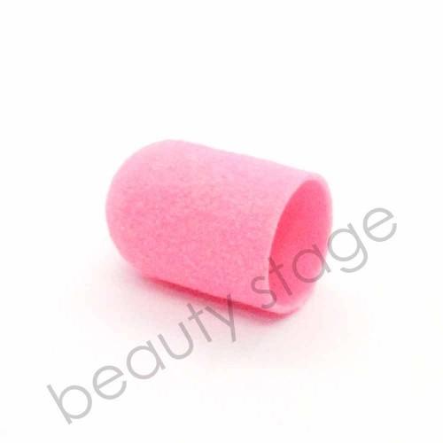 Розовый колпачок насадка для фрезера 16х25 мм., абразивность 180