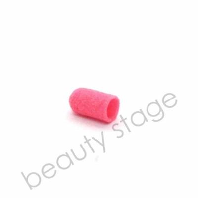 Розовый колпачок насадка для фрезера 5х11 мм., абразивность 120