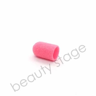 Розовый колпачок насадка для фрезера 7х13 мм., абразивность 120