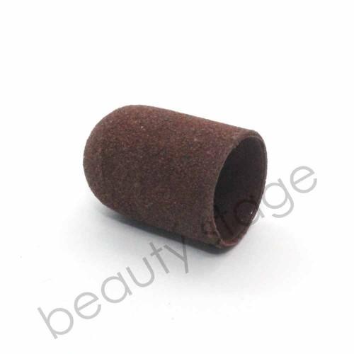 Коричневый колпачок насадка для фрезера 16х25 мм., абразивность 150