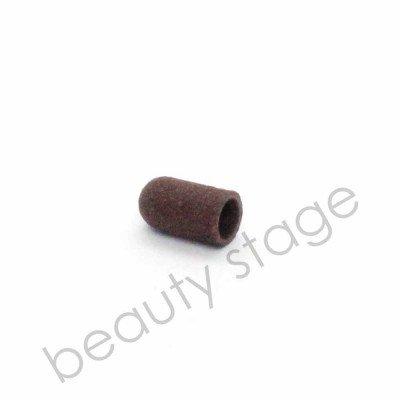 Коричневый колпачок насадка для фрезера 5х11 мм., абразивность 240