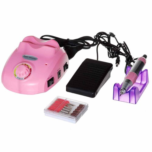 Фрезер Nail Drill ZS-603 для маникюра и педикюра розовый
