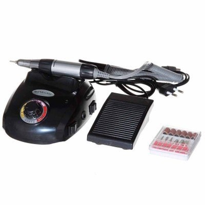Фрезер Nail Drill ZS-603 для маникюра и педикюра черный