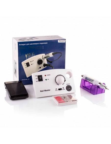 Фрезер Nail Drill ZS-602 PRO для маникюра и педикюра белый