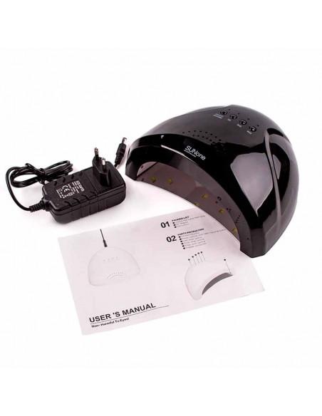 SUN ONE 48 Вт. UV/LED лампа для маникюра черная