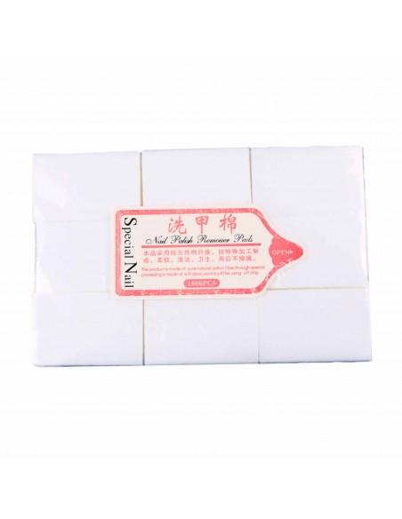 Салфетки безворсовые для маникюра 600 шт., жесткие