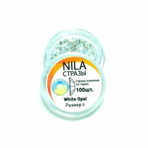 Nila стрази White Opal 100 шт. р3 в...