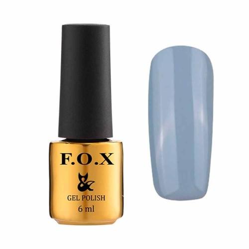 Гель-лак F.O.X № 013 (блакитно-сірий,...