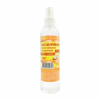 Жидкость для обезжиривания и снятия липкости Prep&Finish ФУРМАН, 250 мл.