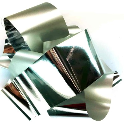Фольга серебряная, 1 метр