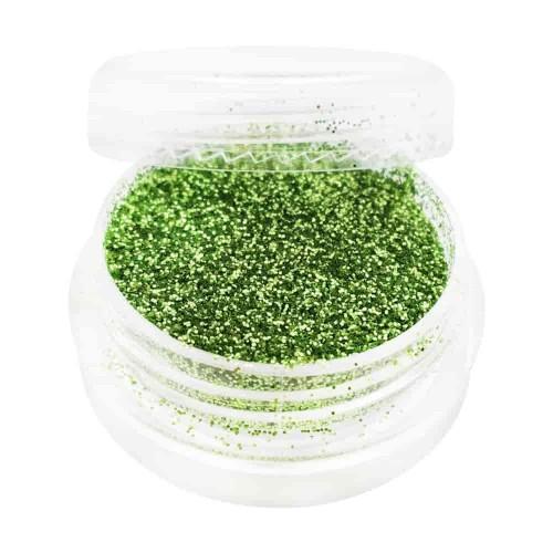 Гліттер для дизайну нігтів, зелений