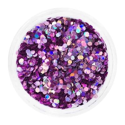 Соты в баночке, фиолетовые