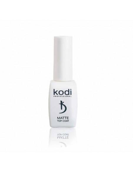 """Kodi Matte Top Coat """"Velour"""" - матовый c велюром"""" топ для гель лака, 8 мл."""""""