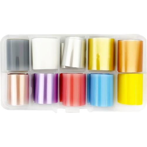 Набір фольги для дизайну нігтів