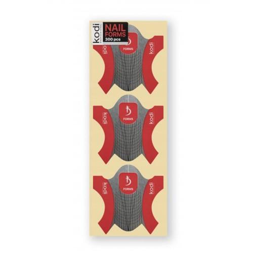 Формы универсальные для наращивания ногтей Kodi 300 шт.
