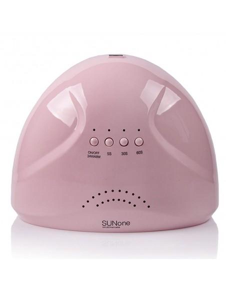 SUN ONE 48 Вт. UV/LED лампа для маникюра розовая
