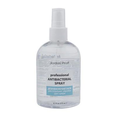Средство для дезинфекции рук и кожи Professional Antibacterial Spray Jerden Proff, 275 мл