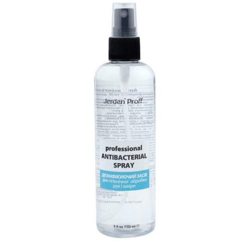 Средство для дезинфекции рук и кожи Professional Antibacterial Spray Jerden Proff, 100 мл